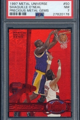 1997-98-metal-universe-precious-metal-gems-50-shaquille-oneal