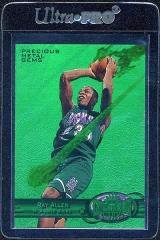 1997-98-metal-universe-precious-metal-gems-emerald-104-ray-allen