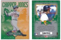1998-donruss-crusade-green-53-chipper-jones