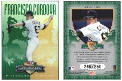 1998-donruss-crusade-green-89-francisco-cordova