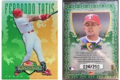 1998-leaf-rookies-and-stars-crusade-update-green-104-fernando-tatis