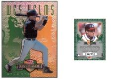 1998-leaf-rookies-and-stars-crusade-update-green-106-wes-helms
