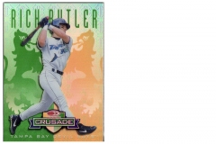 1998-leaf-rookies-and-stars-crusade-update-green-107-rich-butler