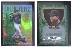 1998-leaf-rookies-and-stars-crusade-update-green-110-david-ortiz