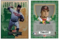 1998-leaf-rookies-and-stars-crusade-update-green-112-jaret-wright