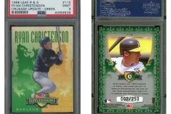 1998-leaf-rookies-and-stars-crusade-update-green-115-ryan-christenson