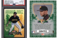 1998-leaf-rookies-and-stars-crusade-update-green-119-abraham-nunez
