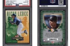 1998-leaf-rookies-and-stars-crusade-update-green-120-ricky-ledee