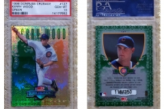 1998-leaf-rookies-and-stars-crusade-update-green-127-kerry-wood