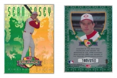 1998-leaf-rookies-and-stars-crusade-update-green-128-sean-casey