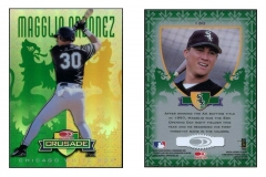 1998-leaf-rookies-and-stars-crusade-update-green-replacement-130-magglio-ordonez