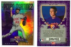 1998-donruss-crusade-purple-85-pedro-martinez