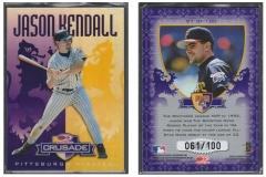 1998-donruss-crusade-purple-91-jason-kendall