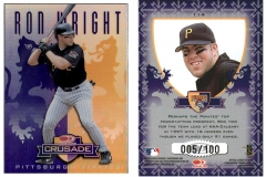 1998-leaf-rookies-and-stars-crusade-update-purple-114-ron-wright