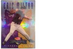 1998-leaf-rookies-and-stars-crusade-update-purple-116-eric-milton