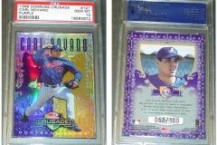 1998-leaf-rookies-and-stars-crusade-update-purple-121-carl-pavano