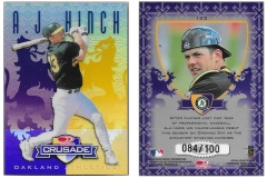 1998-leaf-rookies-and-stars-crusade-update-purple-123-aj-hinch