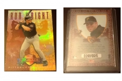 1998-leaf-rookies-and-stars-crusade-update-red-114-ron-wright