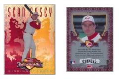 1998-leaf-rookies-and-stars-crusade-update-red-128-sean-casey