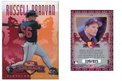 1998-leaf-rookies-and-stars-crusade-update-red-129-russell-branyan