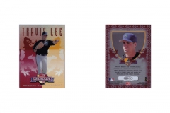 1998-leaf-rookies-and-stars-crusade-update-red-replacement-105-travis-lee