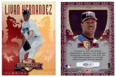 1998-leaf-rookies-and-stars-crusade-update-red-replacement-113-livan-hernandez