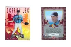 1998-leaf-rookies-and-stars-crusade-update-red-replacement-122-derrek-lee