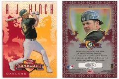 1998-leaf-rookies-and-stars-crusade-update-red-replacement-123-aj-hinch