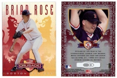 1998-leaf-rookies-and-stars-crusade-update-red-replacement-124-brian-rose