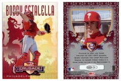 1998-leaf-rookies-and-stars-crusade-update-red-replacement-125-bobby-estalella