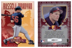 1998-leaf-rookies-and-stars-crusade-update-red-replacement-129-russell-branyan