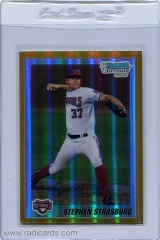 2010-bowman-chrome-prospects-gold-refractor-bcp1-stephen-strasburg