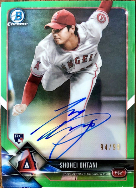 2018-bowman-chrome-rookie-autographs-green-refractor-craso-shohei-ohtani