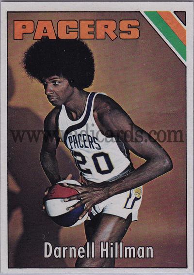 Darnell Hillman 1975-76 Topps Basketball #290