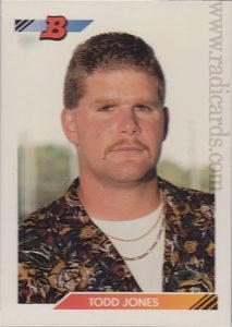 Todd Jones 1992 Bowman #202