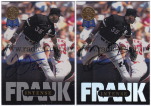Frank Thomas Signature Comparison