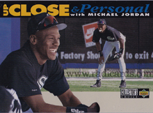 Michael Jordan 1994 Collectors Choice 635 Silver Error The