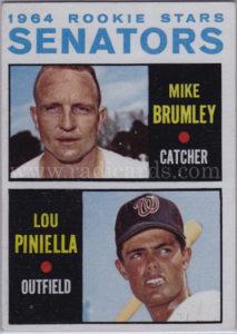 Lou Piniella 1964 Topps #167