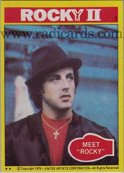 1979 Topps Rocky II #1