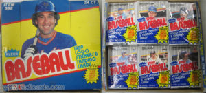 1989 Fleer Cello Box