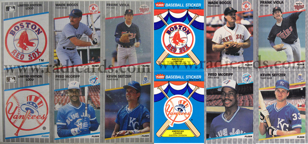 1989 Fleer Cello Baseball The Radicards Blog