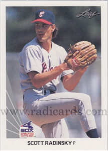Scott Radinsky 1990 Leaf #484