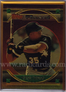 Frank Thomas 1994 Stadium Club Members Only Finest Bronze #3