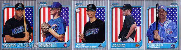 1997 Bowman Chrome International Refractors