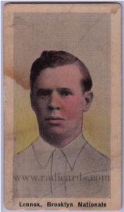 Ed Lennox 1910-11 Sporting Life (M116) #151