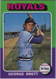 George Brett 1975 Topps #228