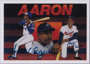 1991 Upper Deck Aaron Heroes #AU3 /2500