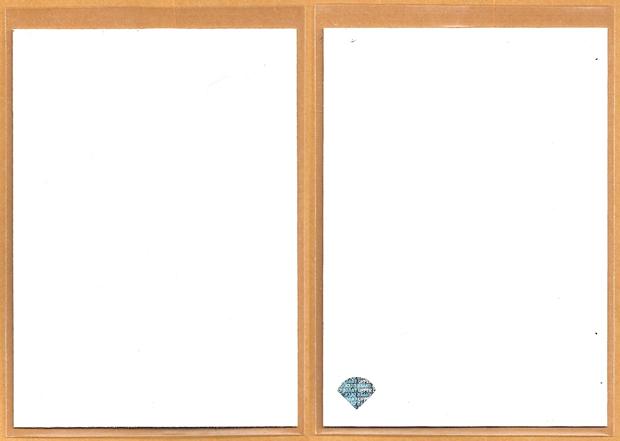 1993 Upper Deck blank card