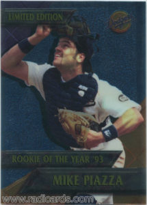 Mike Piazza 1995 Dodgers ROYs #13