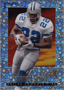 Emmitt Smith 1997 E-X2000 #9 Essential Credentials /100